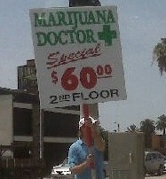 Pot docs who advertise